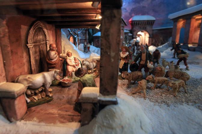 A San Giovanni in Monte, il presepio di Luciano Finessi