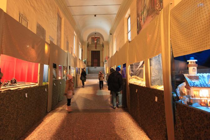L'esposizione di presepi a San Giovanni in Monte