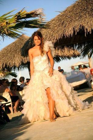 Abiti da cerimonia per matrimonio sulla spiaggia
