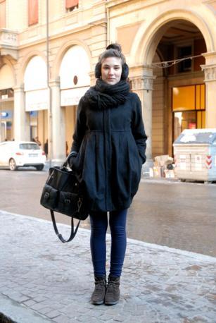 Nome: Claudia CaporalettiLavoro: studentessa Capo d'abbigliamento del cuore: borse
