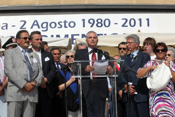 Il presidente dell'associazione familiari delle vittime, Paolo Bolognesi