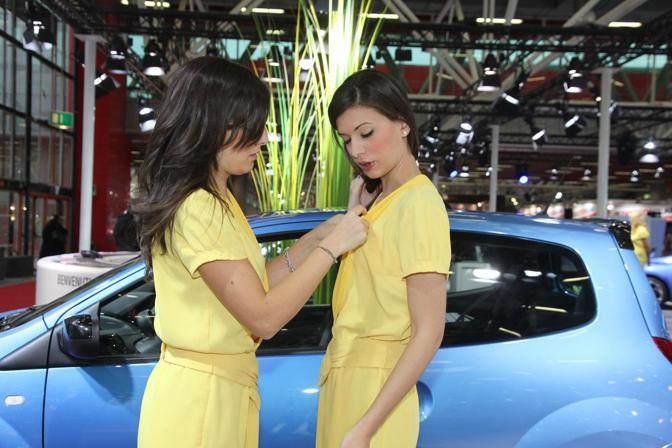 Donne e motori al Motor Show