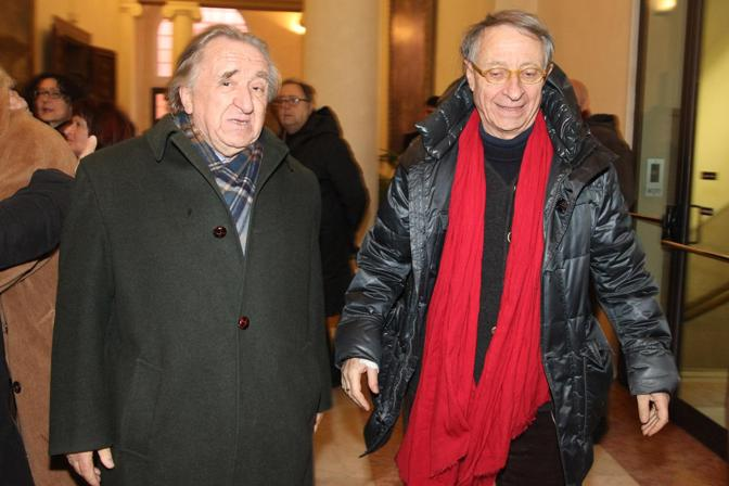 Andrea Emiliani e Pierluigi Cervellati
