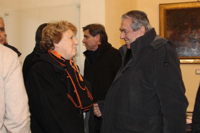 Anna Maria Cancellieri e Giancarlo Tesini