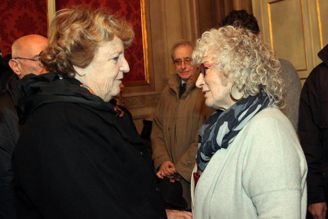 cancellieri con la moglie di Fanti, Geppi