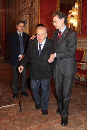 Maurizio Cevenini e Giuseppe Negrini, autista di Fanti