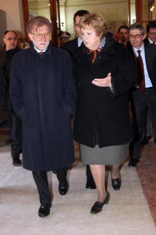 Vasco Errani e Anna Maria Cancellieri