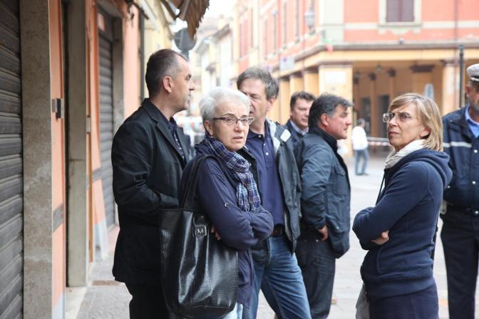 Il sopralluogo presidente provincia Beatrice Draghetti e assessore Emanuele Burgin