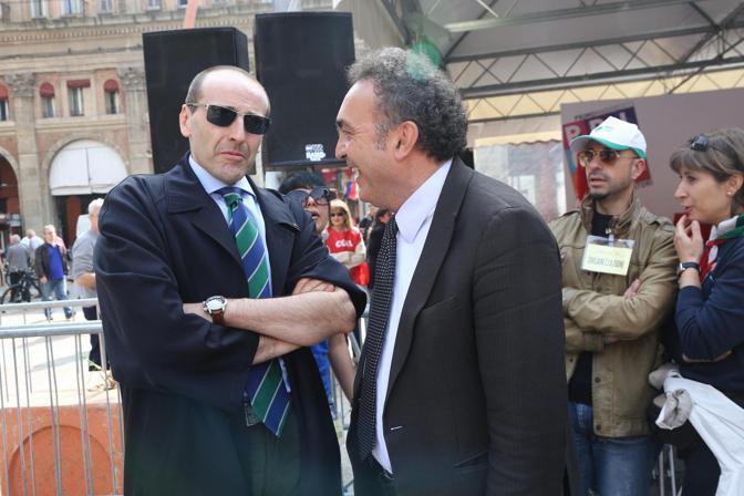 Alberto Vacchi e Alessandro Alberani