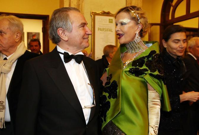 Francesco Ernani e Cecilia Matteucci
