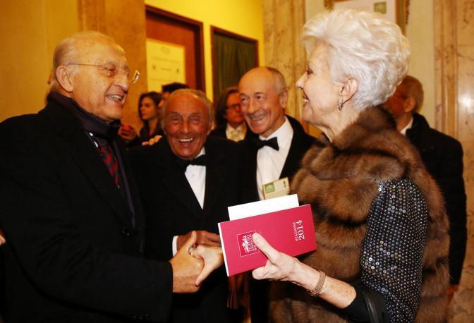 Piero Gnudi e Raina Kabaivanska