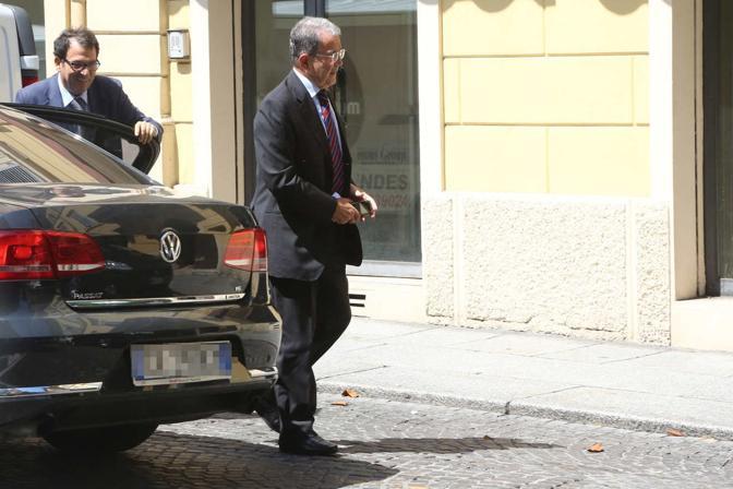 L'ex premier Romano Prodi è arrivato in Procura, a Bologna, per essere sentito come persona informata sui fatti nell'ambito dell'inchiesta sulla mancata scorta a Marco Biagi, ucciso dalle Br il 19 marzo 2002 a Bologna