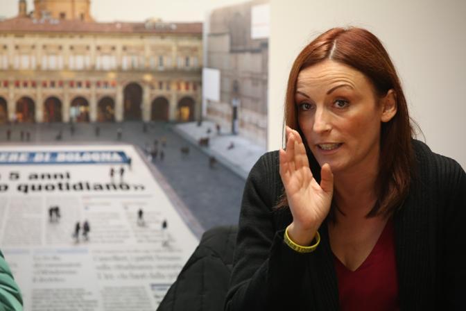 Nata a Bologna nel 1976, attualmente è consigliere comunale e commissario provinciale della Lega nord. È candidata a sindaco sostenuta dal suo partito, Forza Italia, Fratelli d'Italia, Uniti si vince e Riprendiamoci Bologna