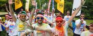 Color run, festa per tutti a Villa Angeletti