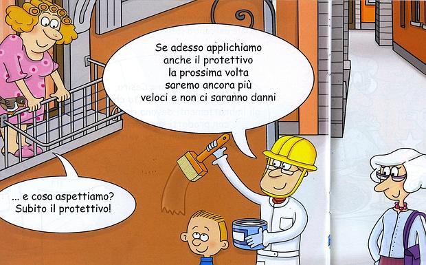 Fumetto Anti Graffiti Foto Del Giorno Corriere Di Bologna