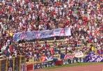 Stadio da «A» - È apparso uno striscione, domenica allo stadio in curva Bulgarelli, a favore dell'opzione «A» al referendum di domenica prossima sui fondi alle materne paritarie