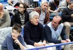 Neo ministro al PalaDozza - Primo weekend da ministro per Gian Luca Galletti (Udc), neo titolare dell'Agricoltura nella squadra di Renzi. La domenica? Al PalaDozza a vedere la Fortitudo contro Piacenza.