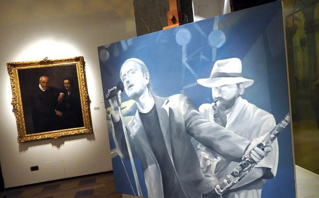 Il doppio ritratto di Lucio - L'opera del pittore Gian Marco Montesano alla Mostra sul ritratto dal '500 al '900 a palazzo Saraceni nell'ambito di Arte fiera Artefiera Art Night