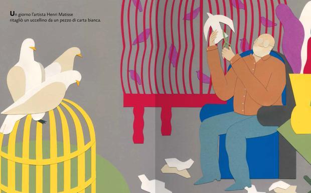 """Il Moma a Bologna -  Icolori dell'arte, con lo sguardo dei bambini, viaggiano sui libri e attraversano l'oceano. È la bolognese Patatrac, marchio delle Edizioni il Borgo (gruppo Giunti), a pubblicare in Italia gli albi per i più piccoli realizzati dal Moma di New York. Il primo volume, appena uscito, è Il giardino di Matisse (di Samantha Friedman e le illustrazioni della milanese Cristina Amodeo)e oggi alle 16 sarà oggetto di una lettura e un laboratorio alla libreria Giannino Stoppani a cura di Elena Baboni, coordinatrice di Patatrac. Praticamente la fautrice dell'intesa con il grande museo. Come avete fatto a concludere l'accordo? «Il contatto con il Moma, che ha una propria casa editrice, c'è grazie all'ufficio internazionale di Giunti. Si sono interessati a un nostro autore, il designer Mauro Bellei, che è pure di Bologna. Così sono iniziate le trattative alla Fiera di Francoforte finché ci siamo aggiudicati i diritti». Le fiere dei libri servono anche a questo? «Non ha idea che reti preziose si tessono alla Fiera del libro per ragazzi di Bologna. Credo che ci abbiano scelti perché da tempo di occupiamo di arte, creiamo libri, abbiamo una certa cura nella cartotecnica. Deriva dalla storia trentennale di Patatrac come casa editrice indipendente». E siete partiti con Matisse. «Il volume è nato con la grande mostra allestita al Moma """"Henri Matisse: the cut Outs"""". La Friedman è una delle curatrici e ha pensato di concentrarsi, per il libro, sugli ultimi anni del pittore, quando non riusciva più a dipingere a cavalletto e allora si è dedicato a collage, ritagliando, alla ricerca della purezza di forme e colori. Fino a creare un giardino. Un approccio molto vicino all'attività creativa dei bambini». Ogni albo sarà riferito a una mostra? «Noi ne pubblicheremo due all'anno. Saranno o riferito a una mostra o alle collezioni del Moma. Come La piccola Charlotte che uscirà a marzo». Di cosa tratta? «È la storia di una bambina molto chiusa aspirante filmaker ma che vive in b"""
