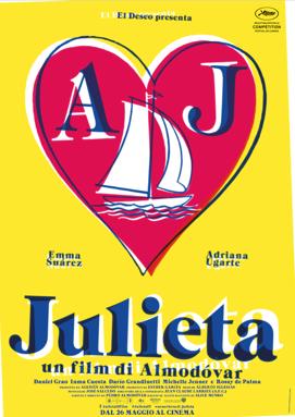 """Almodovar, anteprima con sconto per i lettori - Lunedì 23 maggio a Bologna (Cinema Odeon) ultimo appuntamento della stagione 2015/2016 di Sala Bio, nell'ambito di Be Original, con l'anteprima in versione originale sottotitolata di «Julieta», il nuovo film di Pedro Almodóvar con musiche di Alberto Iglesias In concorso al prossimo Festival di Cannes, il film è tratto da """"Chance"""", """"Soon"""" e """"Silence"""", tre racconti dal libro «In fug»a (2004) di Alice Munro, pubblicato in Italia da Einaudi. «Juliet»a sarà distribuito nelle sale italiane a partire dal 26 maggio da Warner Bros. Pictures.  Per prenotare un biglietto ridotto a 5 euro invece che 7 euro i lettori del Corriere di Bologna possono seguire il  link www.biografilm.it/julieta e inserire il codice: JT32CS"""