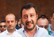 Salvini spunta in PiazzolaE poi battibecca con De Pieri
