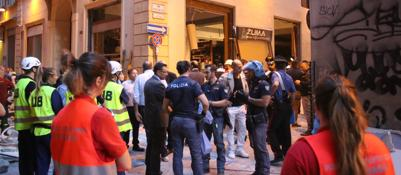 Esplode un ristorante in centro otto feriti uno grave for Ristorante il rosso bologna
