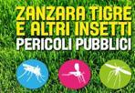 Zanzare «pericoli pubblici» -  La Regione Emilia-Romagna rinnova la campagna contro le zanzare - siano `tigre´, comuni o pappataci - che con le punture possono trasmettere virus e parassiti responsabili di malattie come West Nile, Zika, Chikungunya, Dengue, leishmaniosi o virus Toscana. «Conoscili, proteggiti, previeni» è il messaggio dei de'pliant diffusi in ambulatori, consultori, Urp, e di manifesti, video, web. Evitare di farsi pungere è una prevenzione fondamentale, così come impedire la proliferazione di questi insetti «vettori»: 2.642 ovitrappole controllate ogni 14 giorni sono state distribuite in 254 comuni (il 76% dell'Emilia-Romagna) dove risiede il 91% della popolazione regionale. Dipartimenti di sanità pubblica e Aziende sanitarie organizzano il monitoraggio e supportano il controllo dei trattamenti larvicidi sul suolo pubblico mentre offrono ai cittadini, con i Comuni, modalità di prevenzione e disinfestazione in luoghi privati. Info: www.zanzaratigreonline.it e salute.regione.emilia-romagna.it numero verde 800033033. (nella foto, la campagna della Regione)