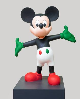 Topolino in stazione - «Topolino e l'Italia» è il titolo della mostra, che si ferma a Bologna alla stazione centrale dall'1 al 10 luglio, con 25 statue dedicato al personaggio Disney.