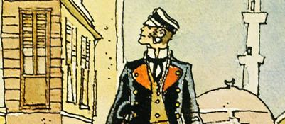 Un marinaio a Palazzo Pepoli