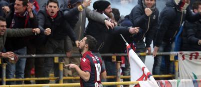 Destro sveglia il Bologna Saputo festeggia al Dall'Ara