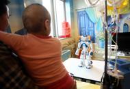 Un robot in Pediatria: «Come stai?» A lui i bambini non mentono|foto|vd