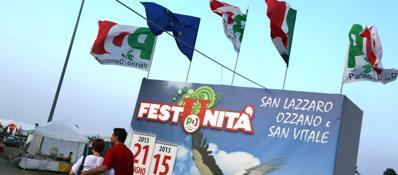 «Festa dell'Unità, Tari non pagata» San Lazzaro chiede gli arretrati