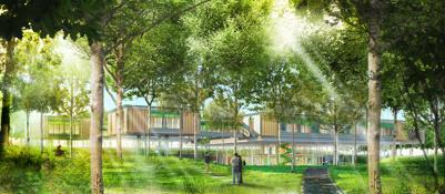 Una casa sull albero per i piccoli malati il progetto di renzo piano corriere di bologna - Casa sull albero progetto ...