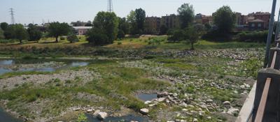 Siccità, fiumi sotto i livelli minimi